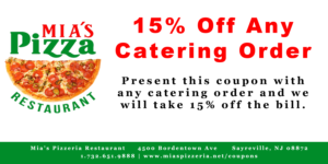 15% Off Any Catering Order